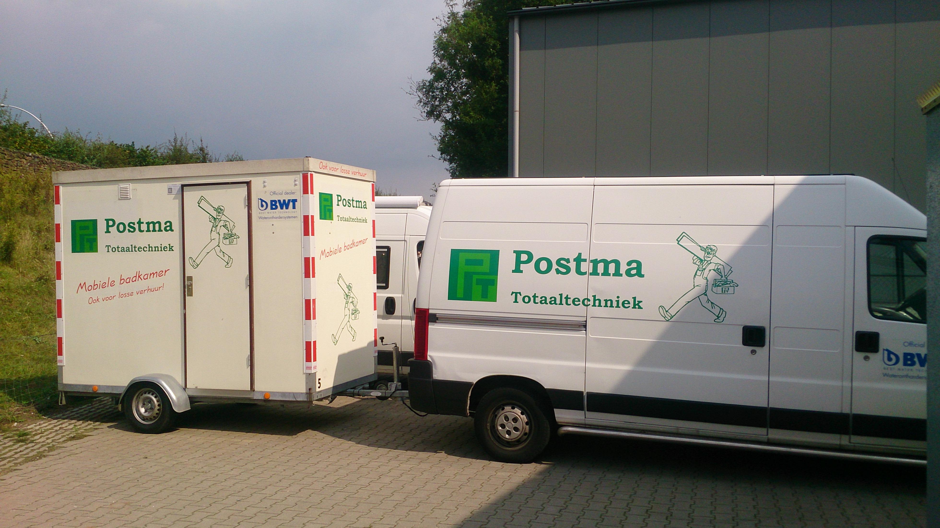 Mobiele Badkamer Huren : Postma totaaltechniek